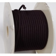 Brown Braided Power Cord