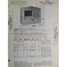 Schematic Andrea Model P-I 63(Ch. I63) Battery Operated (488x640)
